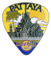Guitar pick with thai temple pins and badges 30971507 e894 4ee6 977c 1ac5f9c7c60a medium
