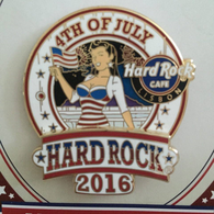 4th of July series '16 | Pins & Badges