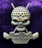 Skull with golf riviera maya golf club pins and badges f05a08ff 313a 4198 852d 2d9fe29ecd37 medium