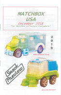 Matchbox USA Magazine December 2018 | Magazines & Periodicals