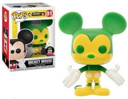 Mickey Mouse (Green & Yellow) [Funko-Shop] | Vinyl Art Toys