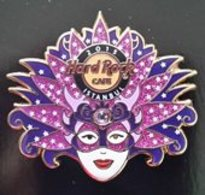 Regional Carnival Mask Series - Purple | Pins & Badges