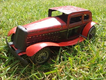 Mettoy Roadster Racing Car No 25   Tinplate & Pressed Steel Toys   Mettoy Roadster Racing Car No 25 Made in England