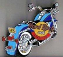 Blue Motorcycle | Pins & Badges