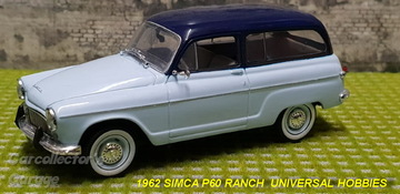 1962 Simca P60 Ranch | Model Cars
