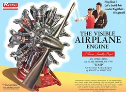 Pratt & Whitney Wasp Visible Airplane Engine | Model Engine Kits