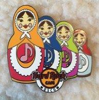 Matryoshka music note set | Pins & Badges