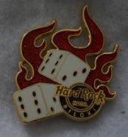 Flaming Dice | Pins & Badges