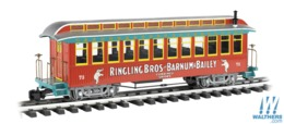 Jackson sharp wood coach   ringling bros. and barnum and bailey 73 model trains %2528rolling stock%2529 bebbe290 44a9 494d a58f 4695acd98038 medium