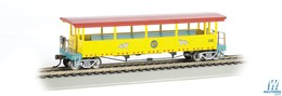 Open sided excursion car w%252fseats   ringling bros. and barnum and bailey 142 model trains %2528rolling stock%2529 77c0adcb d3f7 493d 8ddf d1e092ef8e64 medium