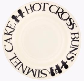 """Black Toast Homepride 8 1/2"""" Plate - Emma Bridgewater   Ceramics   Black Toast Homepride 8 1/2"""" Plate"""