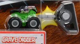 Grave Digger | Model Trucks | 2014 Hot Wheels Mighty Minis Grave Digger
