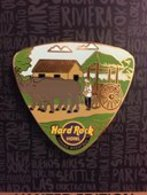 Guitar pick with cattle pulling cart pins and badges 4f3acb4e 81ea 45e4 a84d abc0c15dc7ce medium