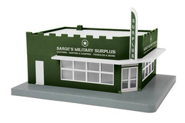 Single Story Opposite Corner Store | Model Building and Structure Kits