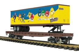 G gauge rail king one gauge flat car w%252f45%2527 trailer model trains %2528rolling stock%2529 846f8c53 64e7 47ad bf1f 90a13baccecc medium