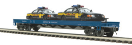O gauge premier detroit and mackinac railway flat car   w%252f%25282%2529 ford crown victoria detroit police cars   car no. 504 model trains %2528rolling stock%2529 3260c77a 40cf 45bd a228 95639f609e87 medium