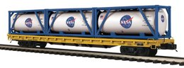 O scale premier nasa 60%2527 flat car 20065 w%252f%25283%2529 tank containers model trains %2528rolling stock%2529 177e67e5 6061 4d0a b425 b1b8e971e93f medium