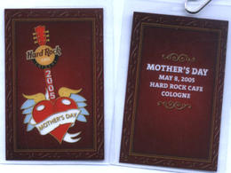 Mother's Day 2005 Hard Rock Cafe Cologne | Event Passes & Tickets