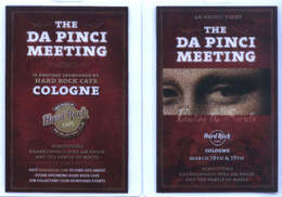 Da Pinci Pin Event Hard Rock Cafe Cologne | Event Passes & Tickets