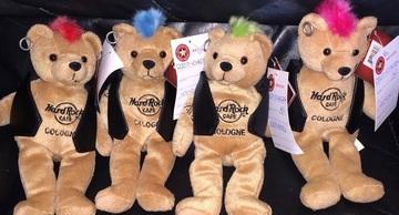 Hard Rock Cafe Cologne Punk Beanie    Plush Toys