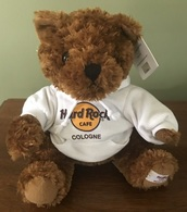 Hard Rock Cafe Cologne Rockin' Bear | Plush Toys