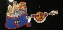 Core Country Flag Guitar   Pins & Badges