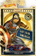 Rogue Hog | Model Cars | 2019 Hot Wheels Marvel Characters Captain America Rogue Hog Red