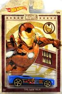 The Gov'ner | Model Cars | 2019 Hot Wheels Marvel Characters Iron Man The Gov'Ner Blue