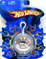 Hot Wheels Holiday Ornament | Christmas & Holiday Ornaments | 2005 Hot Wheels Christmas Ornament with Red Bulb Back and Black Pickup Truck