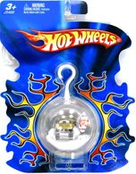 Hot Wheels Holiday Ornament | Christmas & Holiday Ornaments | 2005 Hot Wheels Christmas Ornament with Gold Bulb Back and Gold Funny Car