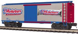 3 musketeers reefer car 2009 model trains %2528rolling stock%2529 b383d03e b3cb 4489 8903 0b6794935523 medium