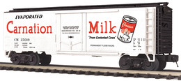Carnation milk reefer car 20519 model trains %2528rolling stock%2529 ed8cc914 ead3 403b 9b8d 302037a41504 medium