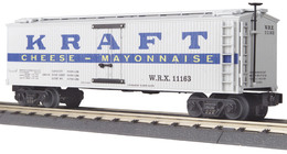 O gauge rail king die cast reefer car kraft 11163 model trains %2528rolling stock%2529 8bb9f9e5 c1c3 4fed 8b5f 3bb5f6d75e4e medium