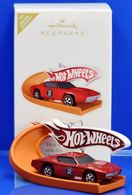 Hot Wheels 40th Anniversary Special Edition | Christmas & Holiday Ornaments | Hallmark Keepsake 40th Anniversary Custom Otto Red
