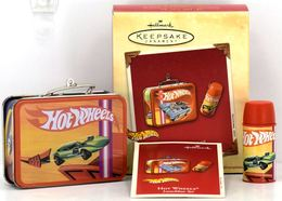 Hot Wheels Lunchbox Set | Christmas & Holiday Ornaments | Hallmark Keepsake Hot Wheels Lunchbox and Thermos Set