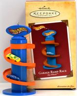 Garage Ramp Race | Christmas & Holiday Ornaments | Hallmark Keepsake Hot Wheels Garage Ramp Race