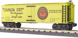 O gauge rail king die cast reefer car canada dry 9107 model trains %2528rolling stock%2529 0a40f317 ae72 4666 9aca 9091d69fc672 medium