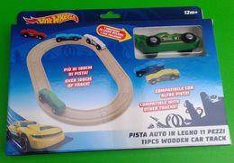 Hot Wheels 11 Pcs Wooded Car Track | Model Train Sets