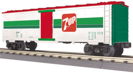 O gauge rail king modern reefer car dpsu   7up 19570 model trains %2528rolling stock%2529 4b08afa5 4a51 40f0 bdab 7f4f1f6e9260 medium