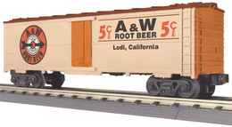 O gauge rail king modern reefer car a and w root beer model trains %2528rolling stock%2529 698804df a499 4cac aadd 2f6a21726b17 medium
