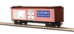 O scale premier 36%2527 wood sided reefer car ralston purina 5592 model trains %2528rolling stock%2529 b019a517 2630 4d9f be03 82fbde4bd375 medium