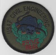 U.S.A.F Civil Engineer Prime Beef Patch | Uniform Patches | U.S.A.F Civil Engineer Prime Beef