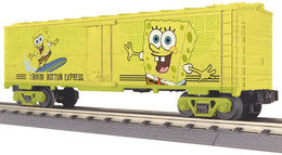 O gauge rail king 40%2527 wood sided reefer car sponge bob model trains %2528rolling stock%2529 53263a37 a318 4d37 b22d e817882b29f8 medium