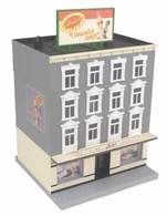 Isaly's Ice Cream 4-Story Building | Model Buildings and Structures