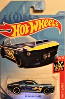 '67 Shelby GT-500 | Model Cars | 2019 Hot Wheels / HW Flames / '67 Shelby GT-500 / International Long Card
