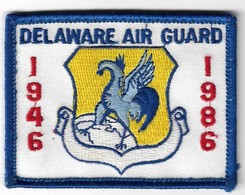 Delaware Air Guard - U.S. Air Force Patch 1946 to 1986 | Uniform Patches | Delaware Air Guard - U.S. Air Force Patch 1946 to 1986