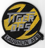 Tiger OPS Laughlin AFB - U.S. Air Force Patch | Uniform Patches | Tiger OPS Laughlin AFB - U.S. Air Force Patch