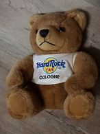 Hard Rock Cafe Cologne Bear | Plush Toys