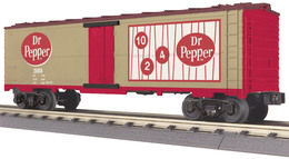 O gauge rail king modern reefer car   dr. pepper 23 model trains %2528rolling stock%2529 5ce1c463 9ece 4923 b85c 90899caeec08 medium