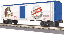 O gauge rail king modern reefer car dpsu   dr. pepper 230295 model trains %2528rolling stock%2529 dc354d97 baf3 464c 9e2a aa0f1817eeba medium
